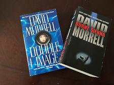 David Morrell Lot of 2: Double Image, Burnt Sienna