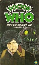 DOCTOR WHO  THE NIGHTMARE OF EDEN by TERRANCE DICKS  4th DOCTOR  TARGET