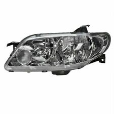 2002 2003 MAZDA PROTEGE 5 HB HEADLIGHT HEAD LAMP ALUMINUM BEZEL LEFT DRIVER