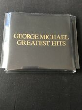 ❣RARE❣️LTD ED EPIC/SONY JAPAN PROMO CD•Greatest Hits~George Michael (Wham!) NM