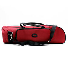 Trumpet Bag New Brass Wind Accessories Musical Soft Trumpet Case Canvas Red Gig