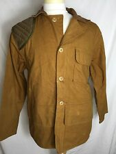 SAF Vtg SafTbak Mens Duck Canvas Hunting Retro Jacket Coat Shooting Pad