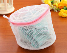 New Laundry Saver Washing Bra Sock Underwear Washing Zipper Mesh Wash Basket Bag