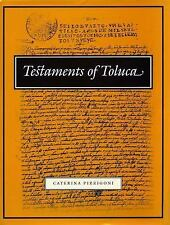 Testaments of Toluca UCLA Latin American Studies