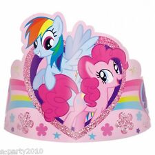 MY LITTLE PONY FRIENDSHIP IS MAGIC PAPER TIARAS (8) ~ Birthday Party Supplies