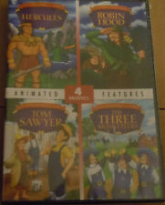 Kids Animated Features- Four Movies (DVD, 2011)