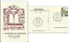 PRIMO CONVEGNO DI CARTOLINE ANNULLI E FILATELIA ERBA ELMEPE 1996 NUMERATA