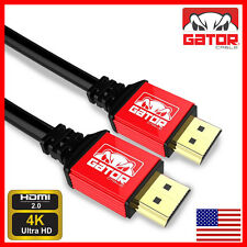 Ultra High Speed HDMI V2.0 Cable HDTV LED LCD PS4 3D 2160P 4K X2K BLURAY 6 Ft.