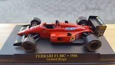 DIE CAST FERRARI F1 88C GERARD BERGER 1988  1/43   BOX  N/IXO