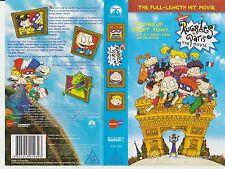 Vhs* Rugrats in Paris - The Movie * 2000 Pramount Home Entertainment Australasia
