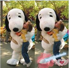 Free Shipping White Puppy Dog Mascot Costume game cos Xmas Fancy Dress EPE Adult