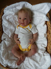 realistic reborn baby doll punkin by Donna Rubert no reserve