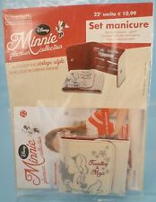 set manicure MINNIE Glamour Collection #22 vintage style Disney Hachette - nuovo