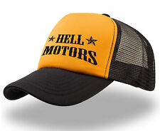 Trucker Cap Hell motors estampados motivo rythm Hot Rod Biker us car rock n roll