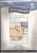 "Counted Cross Stitch All Our Yesterdays 7"" x 5"" Gone Potty (073-17)"