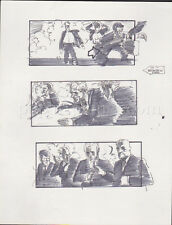 HEAD OFFICE '85 ORIGINAL STORYBOARD ART CARL ALDANA JUDGE REINHOLD GUYS