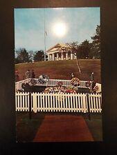 Grave of John F. Kennedy, Custis Lee Mansion Vintage Photo Postcard