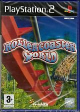 Ps2 PlayStation 2 «ROLLERCOASTER WORLD» nuovo import UK