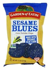 Garden of Eatin - Corn Tortilla Chips Sesame Blues - 7.5 oz.