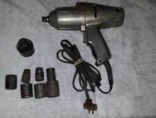 Vintage Craftsman 1/2 Drive Electric Impact Wrench with Sockets 519.18850