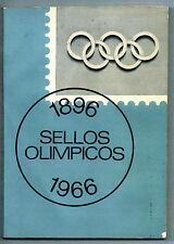 Catalogo Mundial Sellos Olimpicos año 1896-66 Leer descripción (BU-673)