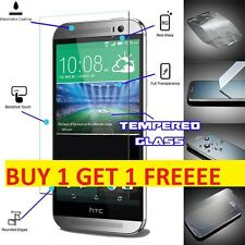 100% Genuine Gorilla Tempered Glass Film Screen Protector Guard For HTC One M8