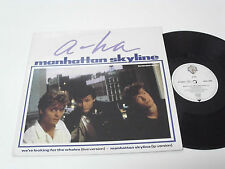 "A-HA manhattan skyline - 1987 GERMANY 12"" Maxi Single - extended version"