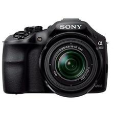 SONY ALPHA a3000 20.1 MP MIRRORLESS SLR CAMERA BLACK OSS 18-55mm LENS DSLR