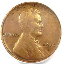 1914-D Lincoln Wheat Cent 1C - PCGS XF40 - Rare EF40 Key Date Penny