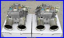 2 Genuine WEBER 45 DCOE 152 Dual Side Draft Carb Carburetors 45DCOE NEW Pair