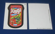 WACKY PACKAGES ANS11 DIE-CUT #44 JUNGA    @@ RARE @@