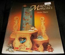 Magical Moments Sandra Malone Tole Decorative Painting Book 1989 HTF Patterns