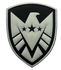 THE AVENGERS movie S.H.I.E.L.D logo PVC 3D Rubber   PATCH   HK   622
