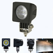 CREE 10W SPOT LED WORK LIGHT LAMP UTE ATV Utility Truck HIGH POWER REVERSE Black