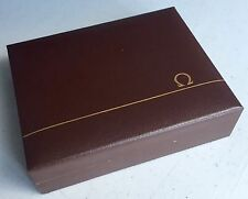 OMEGA Watch Box Scatola 1950s Seamaster Speedmaster Umbrella Constellation OEM