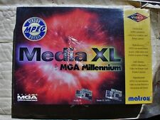 NEW Matrox MediaXL-MPEG daughtercard with Matrox Millenium 2MB PCI graphics card