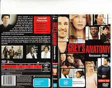 Grey's Anatomy-2005/15-TV Series USA-Season One-[2 Disc 9 Episodes]-DVD