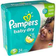 Pampers Baby Dry Diapers, Size 5 24 ea