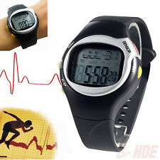 Heart Rate Exercise Watch Pulse Monitor Calories Fitness Alarm Sport Stopwatch