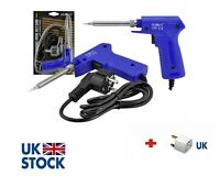 30W - 130W Electric Soldering Iron Solder Gun BLUE HQ