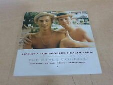 PAUL WELLER - THE STYLE COUNCIL -  LIFE AT THE PEOPLES  !!!CARDBOARD!! RARE CD