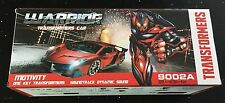 Warrior RC IR Transformers 9002A MIrage Ages 3+ New Toy Remote Control Robot Car
