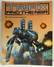 Palladium Books Rifts Triax and the NGR #810 SC 1994 SC RPG World Book 5 Game