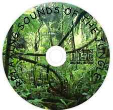 Relaxation Meditation &  Sleep Aid Calming Natural Sounds of the Jungle on CD