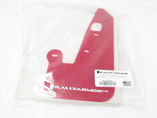 Rally Armor UR Mud Flaps Red w/ White Logo 07-13 Mitsubishi Lancer 4-Door Sedan