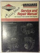 1991 Briggs & Stratton Service And Repair Manual For 4-Cycle V-Twin Cylinder OVH