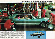 PUBLICITE ADVERTISING 035  1982  MERCEDES BENZ  500 S.E.L   ( 2 pages)