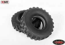 """2 DUKW 1.9"""" Military Style Offroad Tires RC4WD X3 Compund Open BAR tread for mud"""