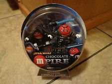 2005 HASBRO--STAR WARS CHOCOLATE MPIRE--ANAKIN / EMPEROR PALPATINE FIGURES (NEW)