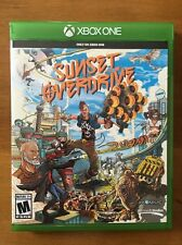 Sunset Overdrive (Microsoft Xbox One, 2014) Game & Case Great / Adult Owned